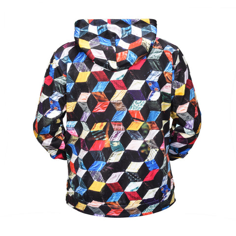 Image of Colored Cubes Hoodie