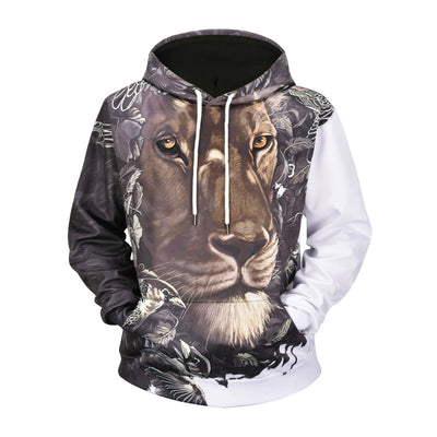 A Wise Lion Hoodie