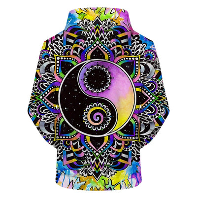 Magical Balance Hoodie by Brizbazaar Art