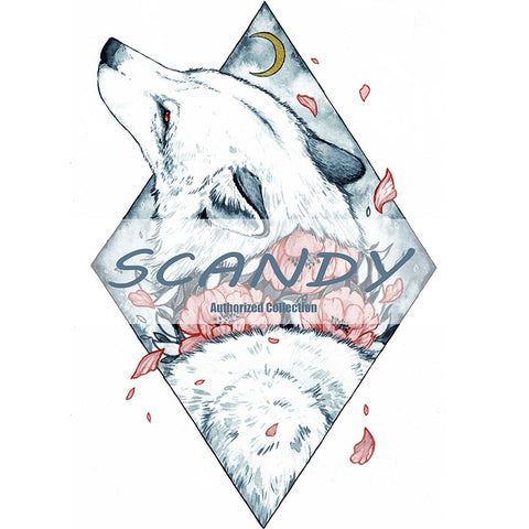 Image of Scandy's Wolf in the Woods
