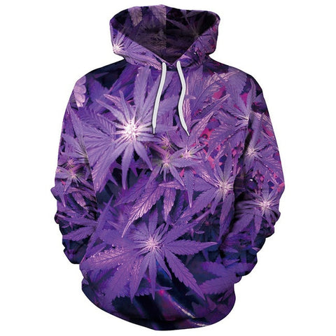 Image of Weed Leaves Hoodie