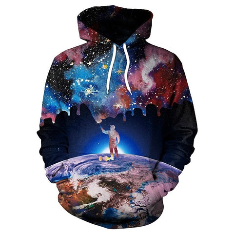 Image of Colorful Galaxy Hoodie