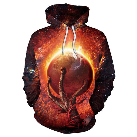 Image of Planet Galaxy Hoodie
