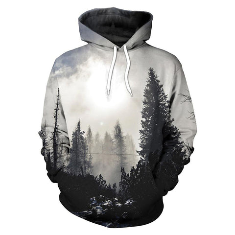 Foggy Forest Hoodie