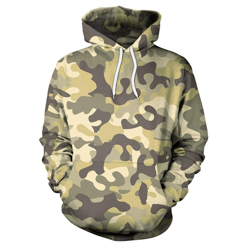 Image of Military Camouflage Hoodie