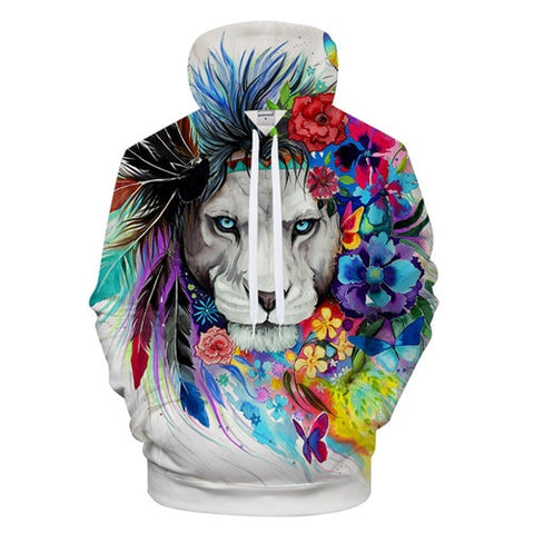 Image of Lion The King Hoodie
