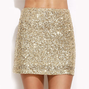 Jupe sequins GOLD