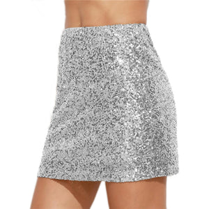 Jupe sequins SILVER