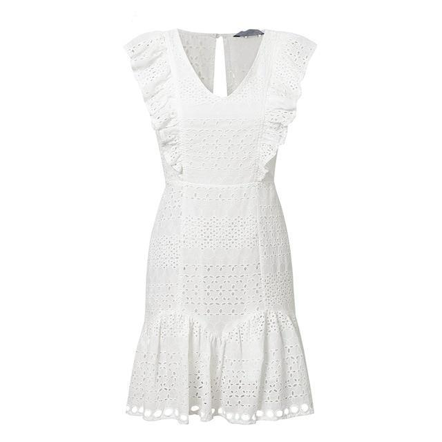 Robe broderie anglaise ALICANTE