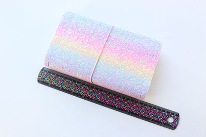 Domikee Sequin PU leather TN Planner