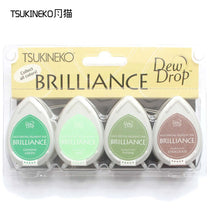 Tsukineko BRILLIANCE 4pcs water-drop series
