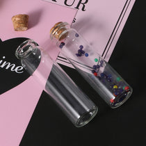 10pcs Mini Glass Wish Bottle with Cork 20mL