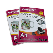 High-quality a4 size inkjet printer heat sublimation paper For Ceramic glass mug & cup paper
