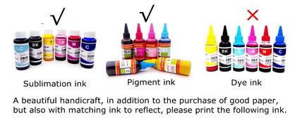 A4 Size inkjet printer T-shirt Dark cotton textiles Transfer sublimation transfer paper