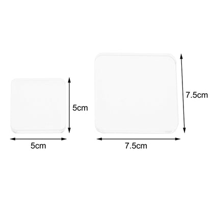 High Quality Acrylic Stamp Block with Square Grid