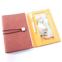Domikee vintage leather Planner