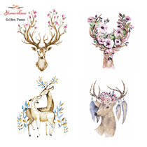Cross stitch Sets For Embroidery kit 14ct unprinted deer cross-Stitching