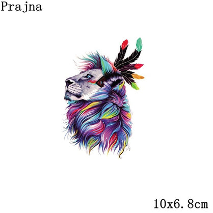 Prajna Bull Head For Clothes Heart Transfer Indian Appliques Iron Patch