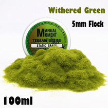 Miniature Scene Withered Green Grass Powder