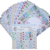 24 Sheets/set 6 Inch Lovely Scrapbooking Pad