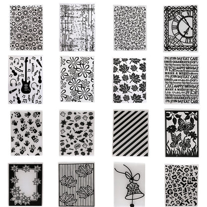 Choose Your Embossing Folder 14.5X10.5cm