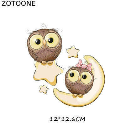 Iron on Cute Animal Patches for Kids Clothes