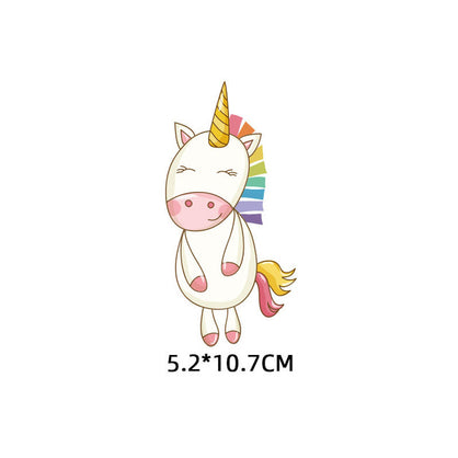 Cute Small Animal Unicorn Owl Dog Cat Patch for Clothing