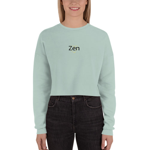Zen Crop Top Sweatshirt