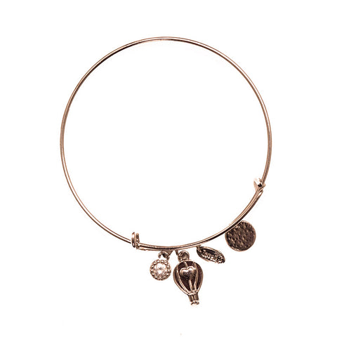 Love Lift Signature Bangle Rose Gold