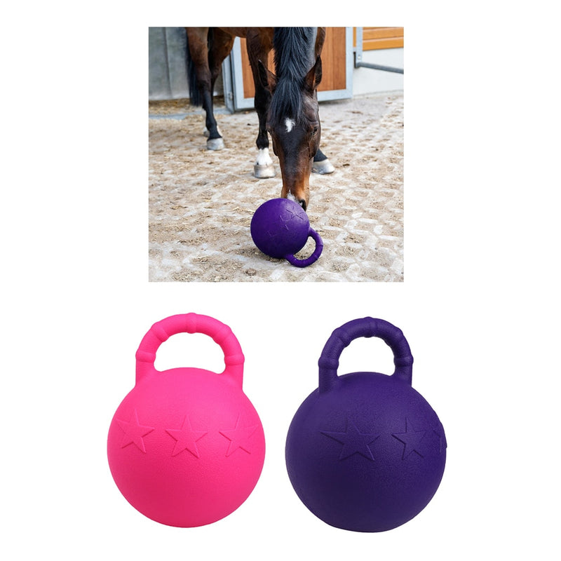 Apple Scented Rubber Toy Ball for Horses