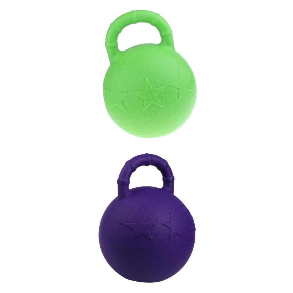 Equine Rubber Jolly Ball Fruit Scented - Pack of  2