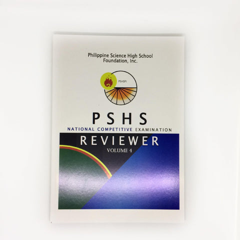 Philippine Science High School NCE Reviewer Volume 4