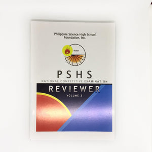 Philippine Science High School National Competitive Exam Reviewer Volume 3