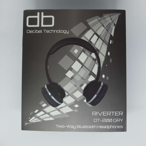 Decibel Technology Two-Way Bluetooth Headphones