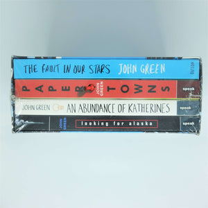 John Green Collection: The Fault in Our Stars, Paper Towns, The Abundance of Katherines, Looking for Alaska