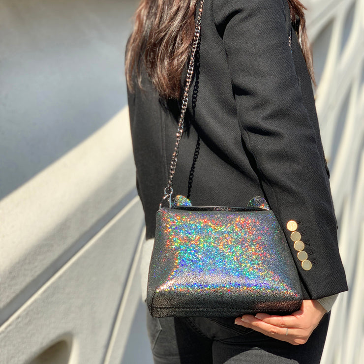 Sparkle Kitty Clutch - Stargaze