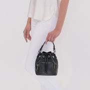 Le Poche Bucket Bag - Black