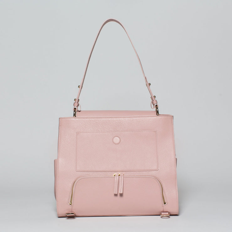 modern bag blush - pink work bag laptop bag gym bag diaper bag