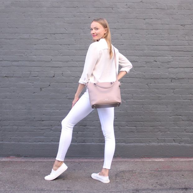 Minimalist Carryall - Natural Rose