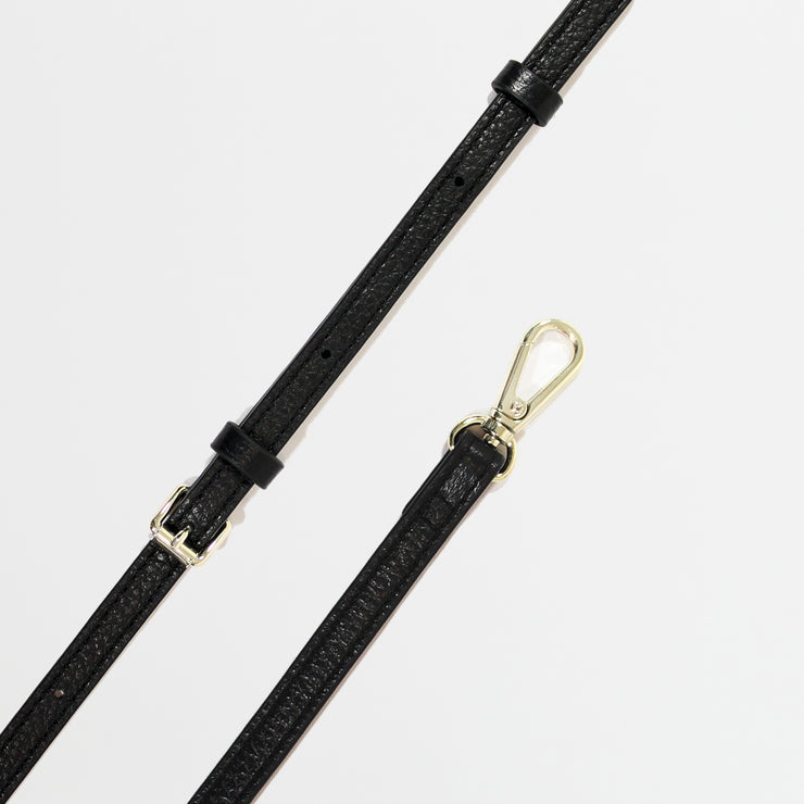 Italian Leather Strap - Black