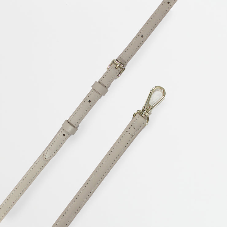 Italian Leather Strap - Cloud Gray