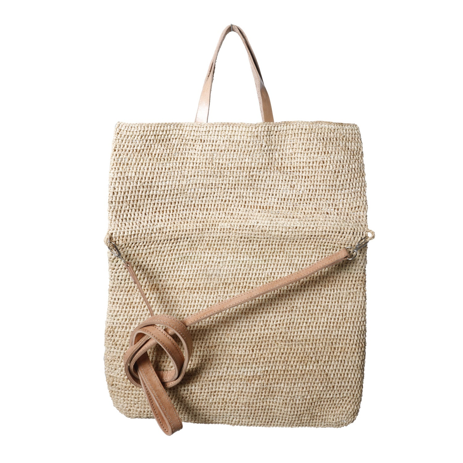 Emilie Tote/Crossbody Bag in Natural
