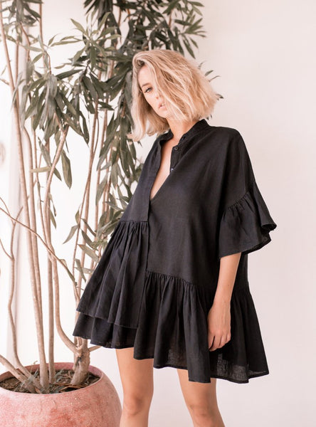 Tilda Dress in Black