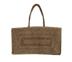 Alice 3XXL Raffia Bag in Tea