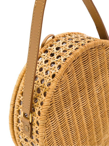 Destiny Wicker Circle Bag
