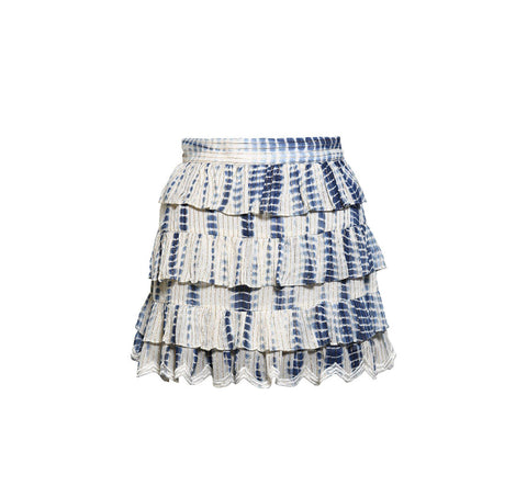 Maera Tie Dye Mini Skirt
