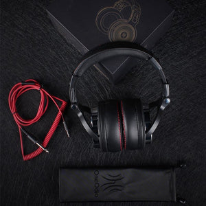Studio DJ Headphones With Microphone