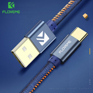 Floveme Denim USB Type C Cable