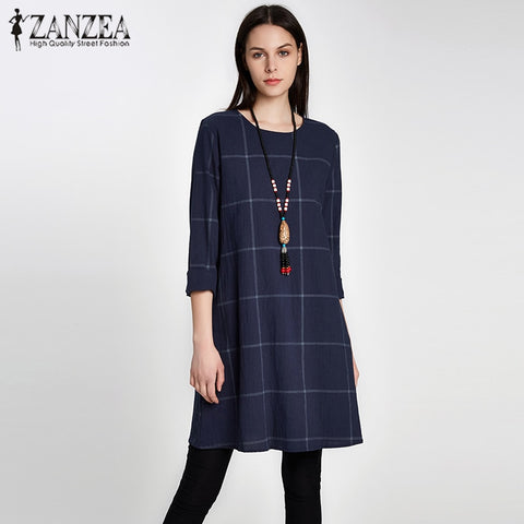 Zanzea Long Sleeve Dress