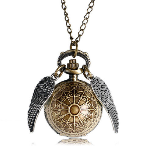 Men's Pocket Watch Wings